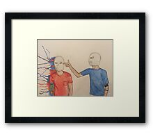 Twenty Øne Piløts Guns For Hands Paint Splatter Framed Print