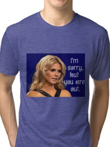 Project Runway:  Heidi Klum You Are Out Tri-blend T-Shirt