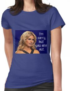 Project Runway:  Heidi Klum You Are Out Womens Fitted T-Shirt