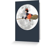 Kiki's Delivery Service (1989) Greeting Card