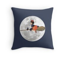 Kiki's Delivery Service (1989) Throw Pillow