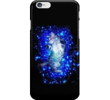 Psychedelic Galaxy Cat in space iPhone Case/Skin