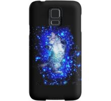 Psychedelic Galaxy Cat in space Samsung Galaxy Case/Skin