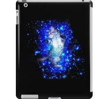 Psychedelic Galaxy Cat in space iPad Case/Skin