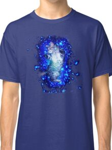 Psychedelic Galaxy Cat in space Classic T-Shirt