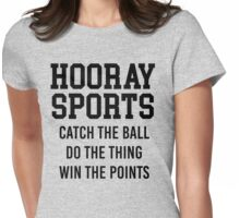 Hooray Sports Womens Fitted T-Shirt