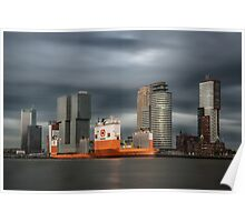 A very special vessel in Rotterdam Poster