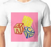 Alphabet Blocks Unisex T-Shirt