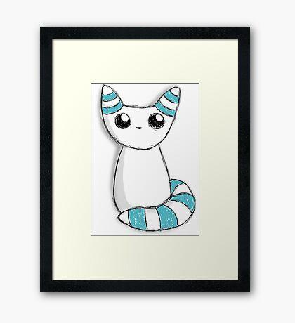 Winter fox Framed Print