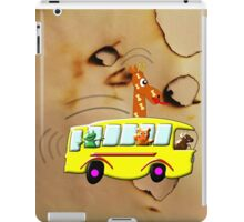 Yellow School Bus - pillow & tote design iPad Case/Skin