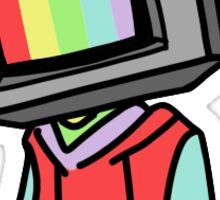 trust no one tv kid Sticker
