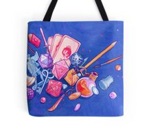 tabletop explosion Tote Bag