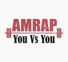 AMRAP As Many Reps As Possible You Vs You Kids Tee