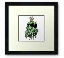 C'thulhu Dreams Framed Print