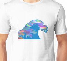 holographic wave  Unisex T-Shirt