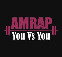 AMRAP As Many Reps As Possible You Vs YOU One Piece - Long Sleeve