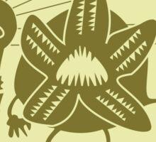 Stranger Things: Artichoke Festival Demogorgon Sticker