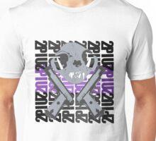 cat skull guns  Unisex T-Shirt