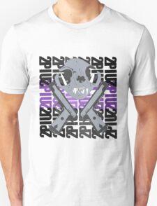 cat skull guns  T-Shirt