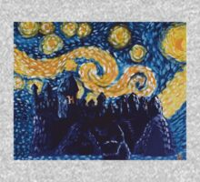Hogwarts Starry Night Kids Clothes