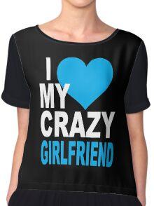 Crazy Girlfriend  Chiffon Top