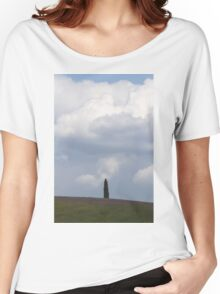 landscape hilly Women's Relaxed Fit T-Shirt