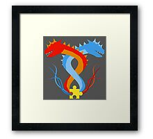 The Brothers Chilly & Chilli Framed Print