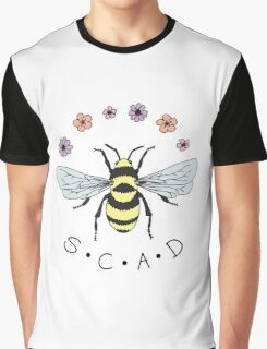 Art the Bee from Savannah College of Art and Design Graphic T-Shirt