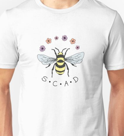 Art the Bee from Savannah College of Art and Design Unisex T-Shirt