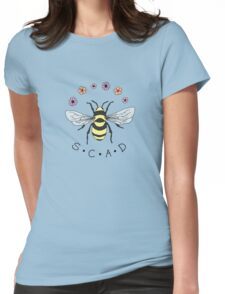 Art the Bee from Savannah College of Art and Design Womens Fitted T-Shirt