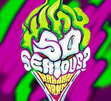 Joker - Why So Serious? by Mellark90