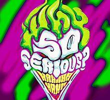 Joker - Why So Serious? by Mellark90