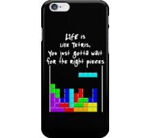 LIFE is like Tetris iPhone Case/Skin