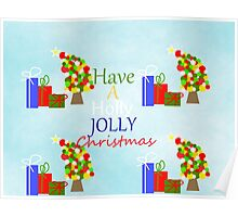 Holly Jolly Christmas Poster