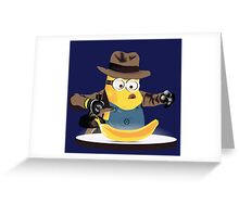 Raiders of the Lost Banana Greeting Card