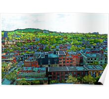 Montreal Suburb Poster