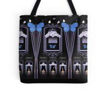 Victorian Asylum of Roses- At Night Tote Bag