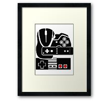 Gaming Collage Framed Print