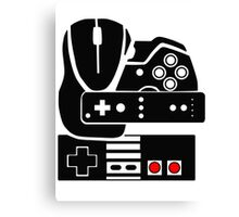 Gaming Collage Canvas Print