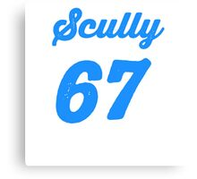 """""""Scully 67 Years"""" Canvas Print"""