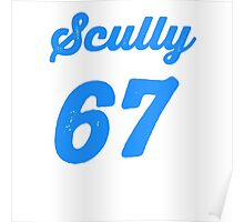 """""""Scully 67 Years"""" Poster"""