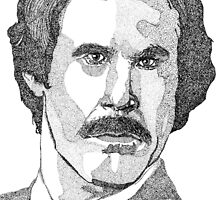 Ron Burgundy (Will Ferrell) by Antony Stephenson