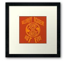 Gallifrey Academy Hot Five Framed Print