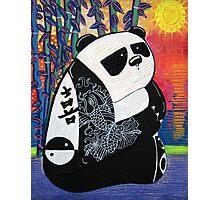 Panda Zen Master Photographic Print