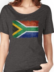 National flag of the Republic of South Africa Women's Relaxed Fit T-Shirt