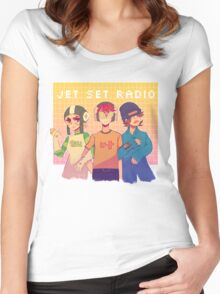 Jet Set Radio - The GGs Women's Fitted Scoop T-Shirt