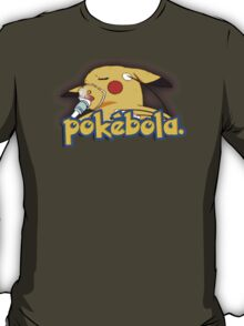 Pokebola - sick dying Pikachu ebola T-Shirt