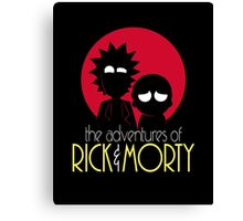 Rick and Morty Adventures A Hundred Years shirt phone ipad case pillow hoodie Canvas Print