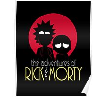 Rick and Morty Adventures A Hundred Years shirt phone ipad case pillow hoodie Poster
