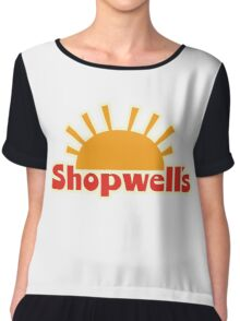 Enjoy a Sausage Party at Shopwell's Chiffon Top